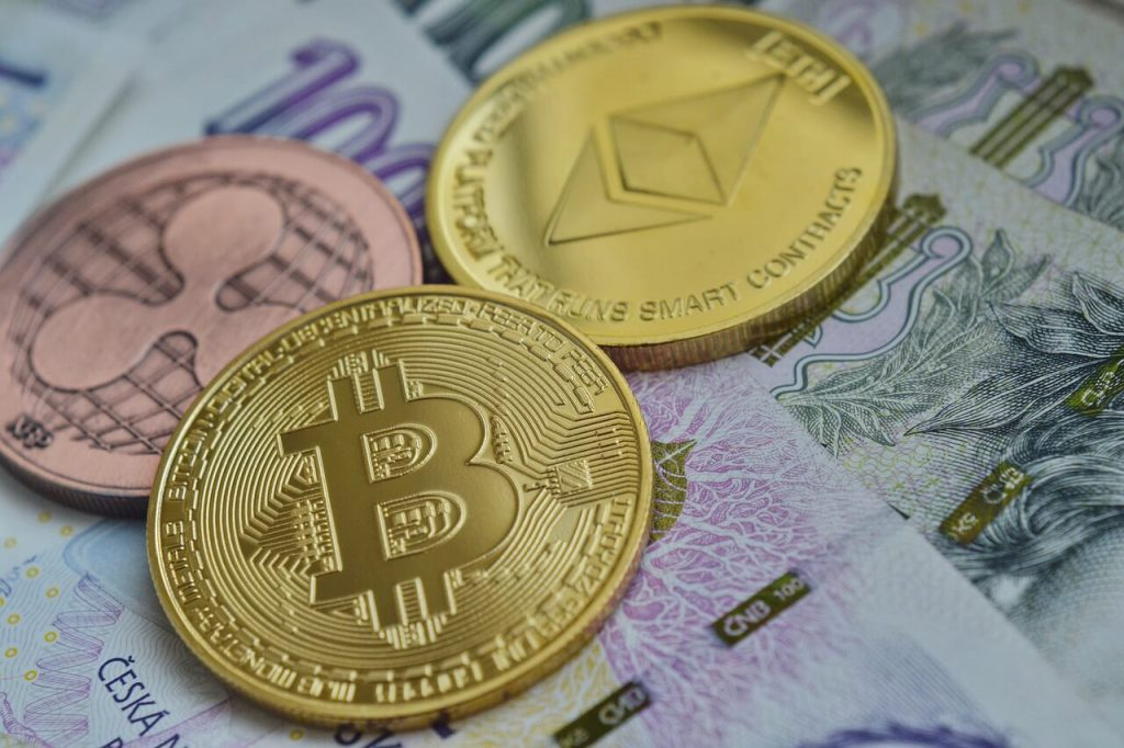 ethereum bitcoin ripple cryptocurrency