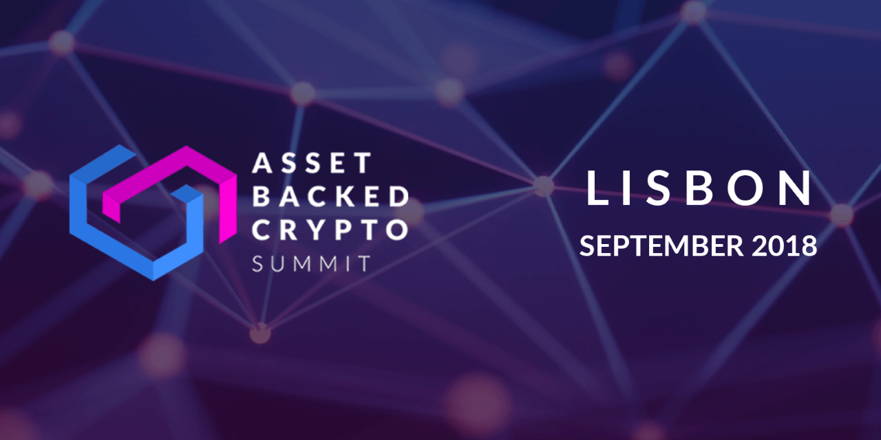 Asset Backed Crypto summit portugal lisbon