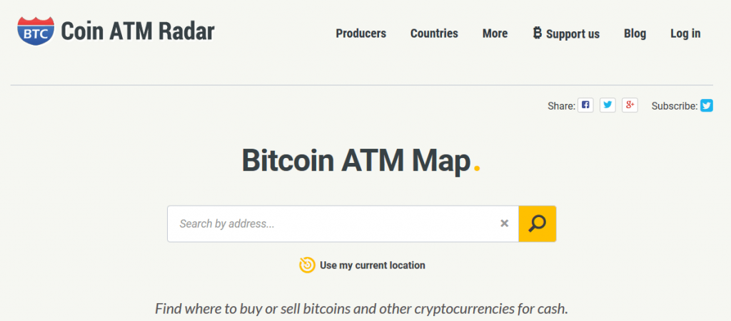 coin atm map